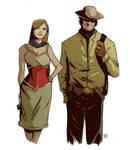 Old West sketch