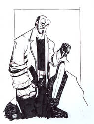 Hellboy Warm-Up