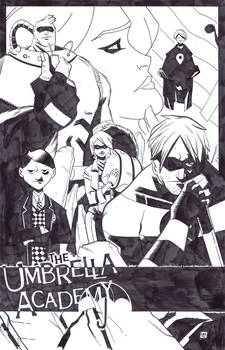Umbrella Academy commission