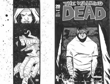 Walking Dead 100 Sketchcover