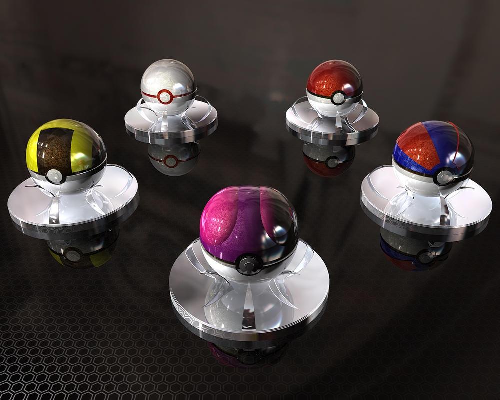 Pokeballs V2.0 by TXBadBoy