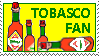 Tobasco stamp by BarkingCrayon