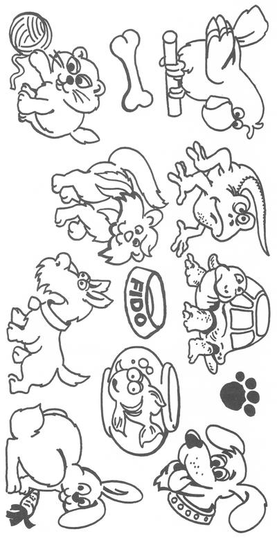 Clip Art Pets Clipart pets by verrilo