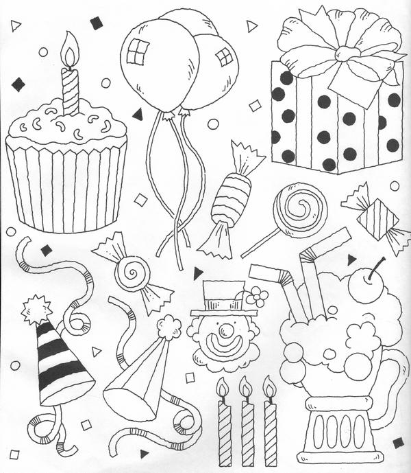 Clipart Party Theme By Verrilo