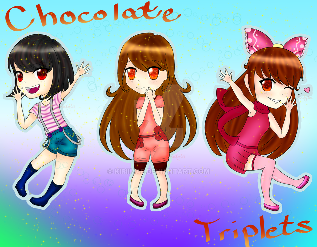 Chocolate Triplets by Feurette