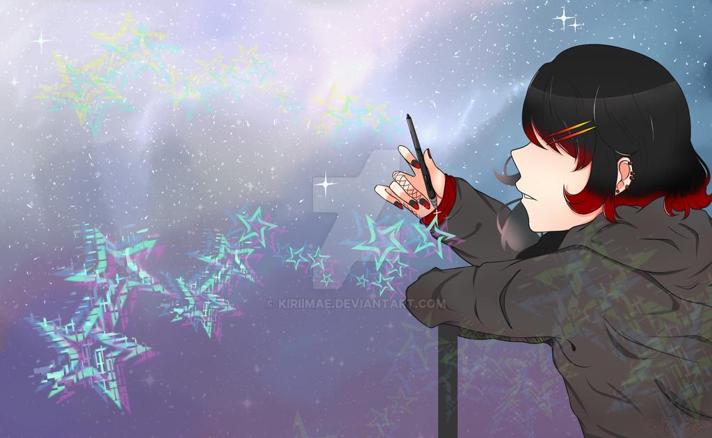 Digital Stars by Feurette