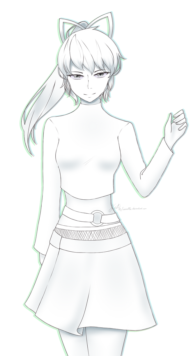 [AT] Black and White Catherine by Feurette
