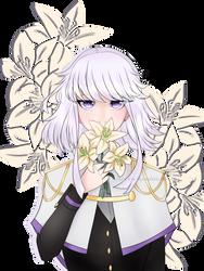 Lilac || White Lillies