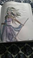 Watercolors: Dark River Reaper