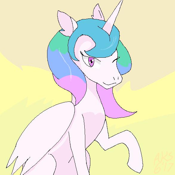 ForeverStormverse: Princess Celestia