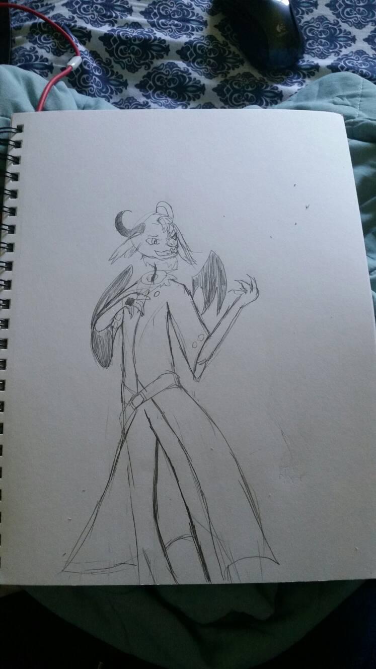 Sketchdoodle: Villainous Stri
