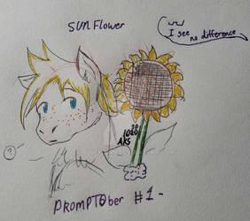 PROMPTOber Day 1- Sunflower