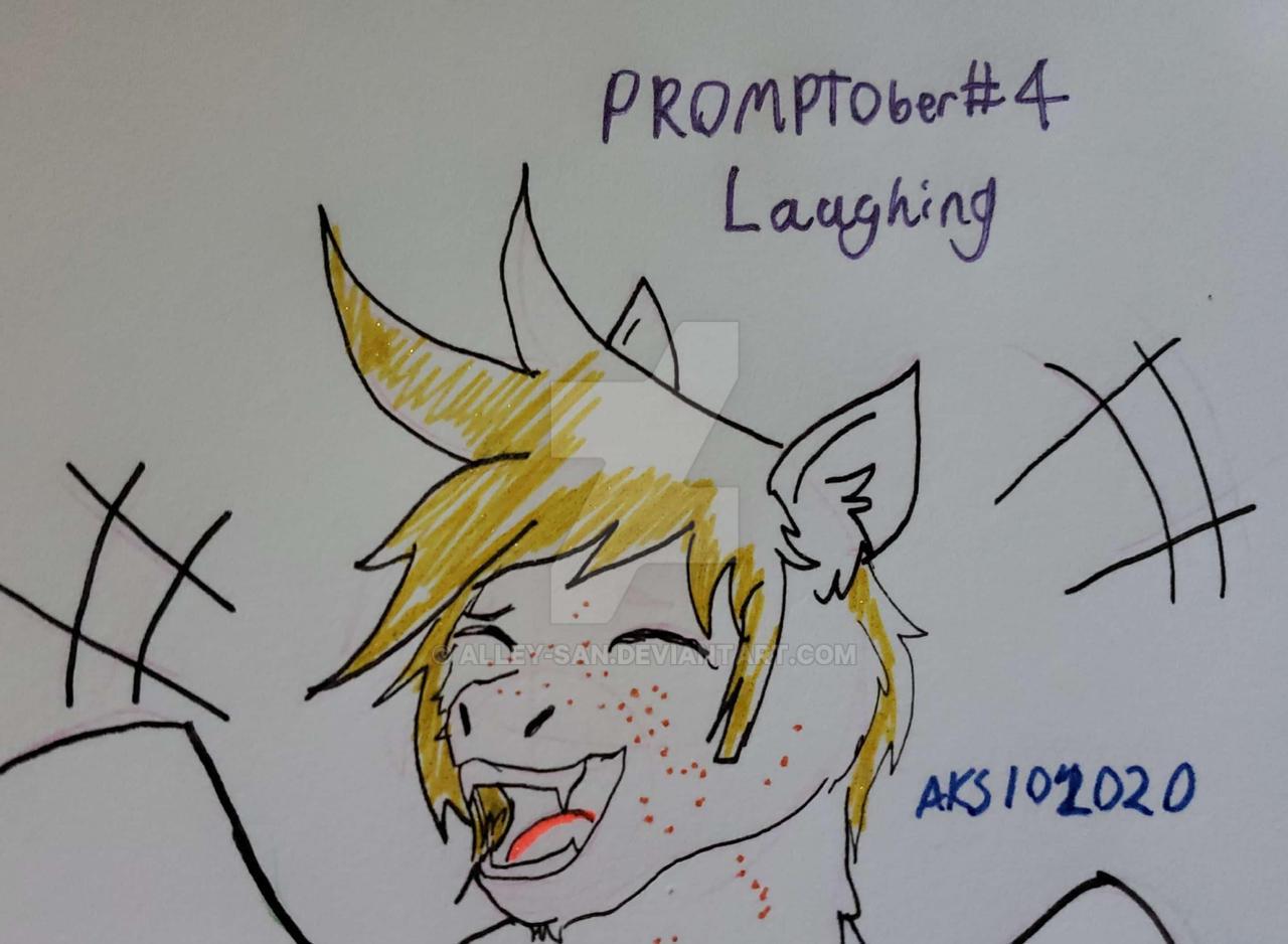 PROMPTOber Day 4- Laughing