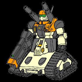 RX-76G Desert Cannon by Positroneidon