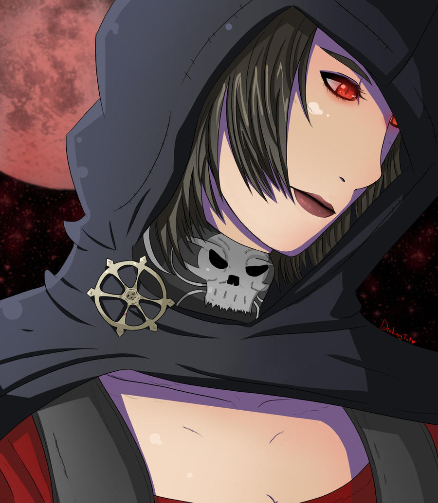 Skyrim - Serana by LuciferianRising