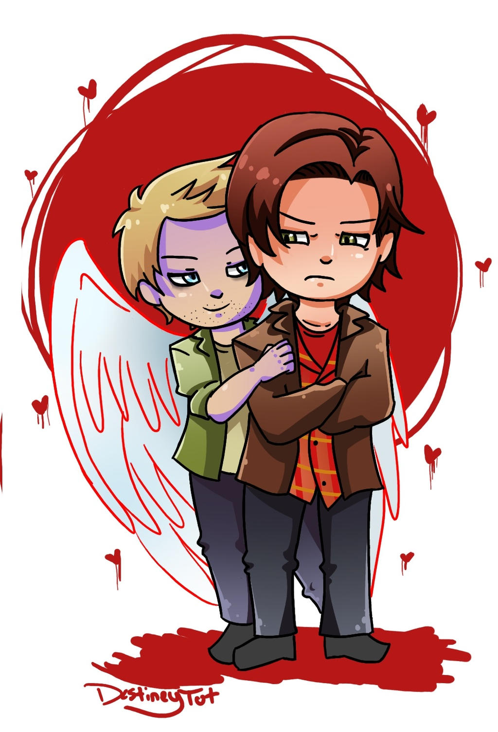 SPN: Samifer Doodle by LuciferianRising on DeviantArt