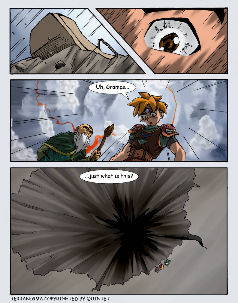 Terranigma Graphic Novel by Chaotic-Tide on DeviantArt