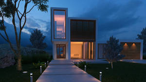 Architectural visualization by Beelp