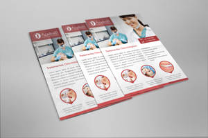 Flyer for dental clinic by Beelp