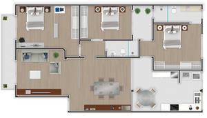 Floor plan by Beelp