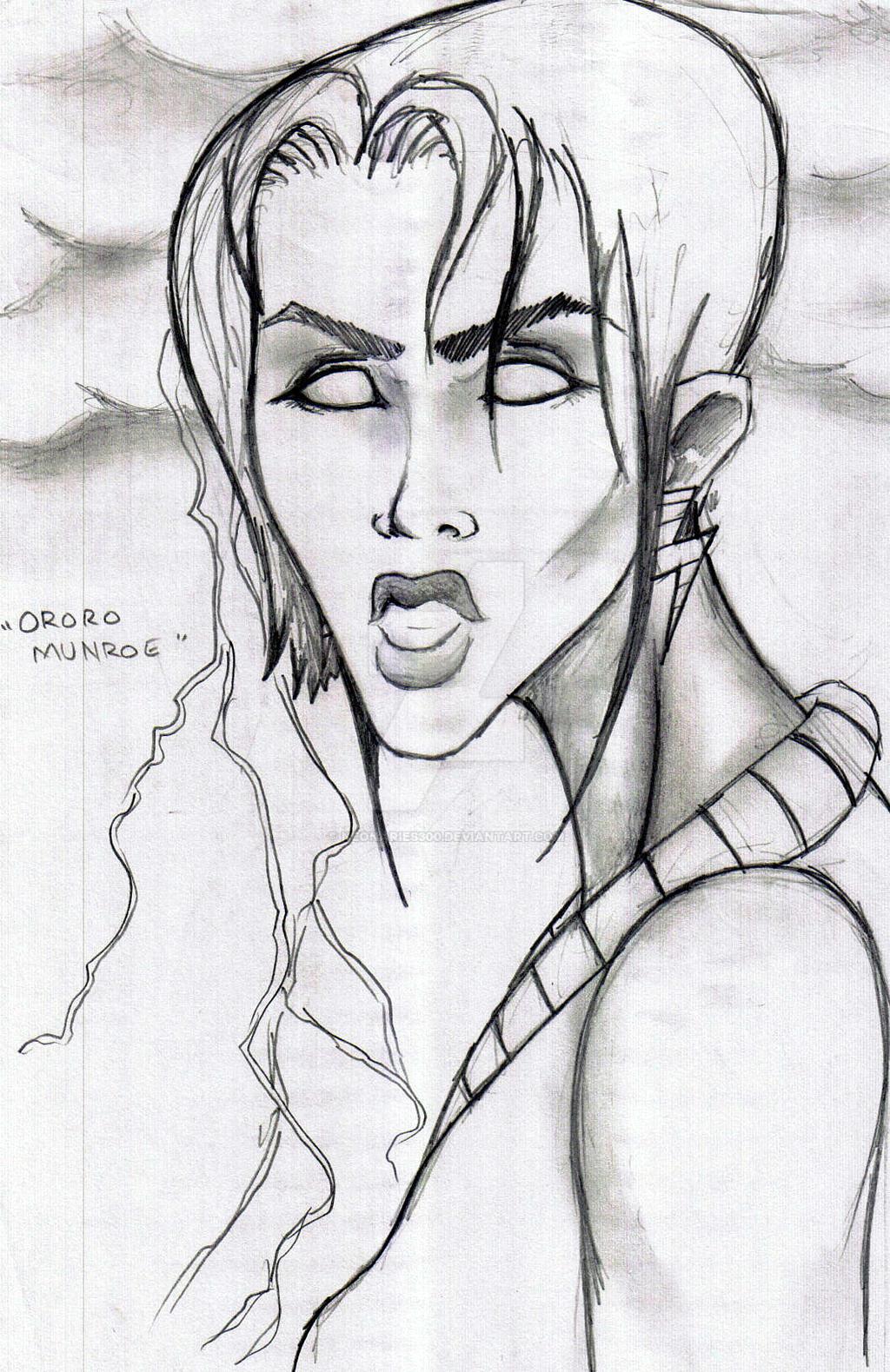 Ororo Munroe by neonaries300