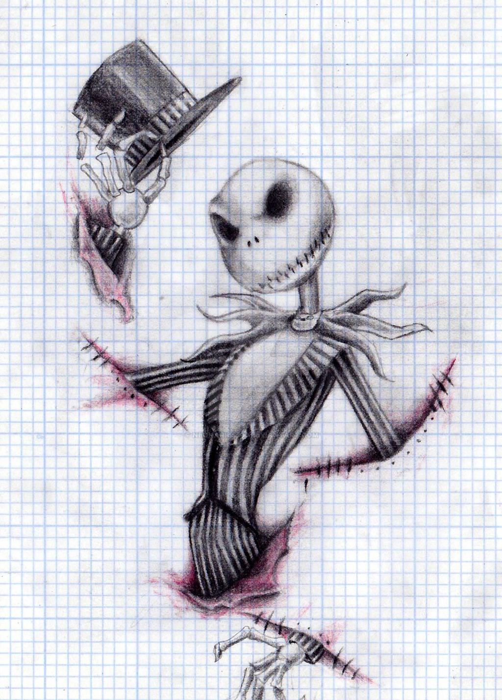 Jack skellington by neonaries300