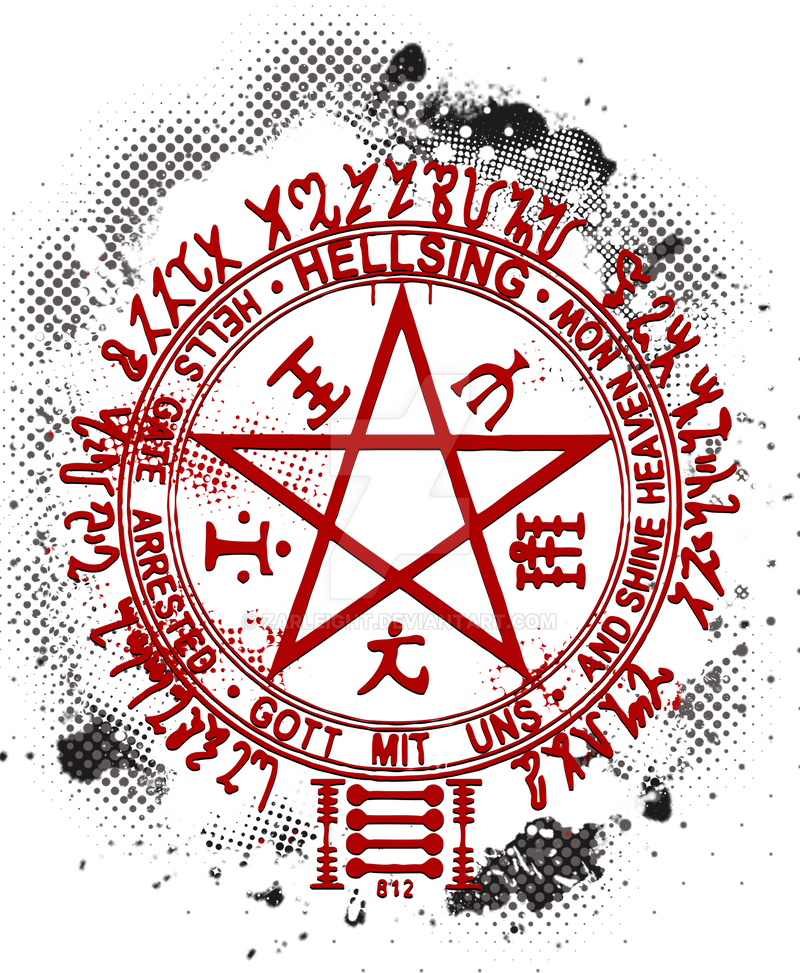 Dahakine sume - Page 2 Hellsing_pentagram_by_zarleight-d82a50g