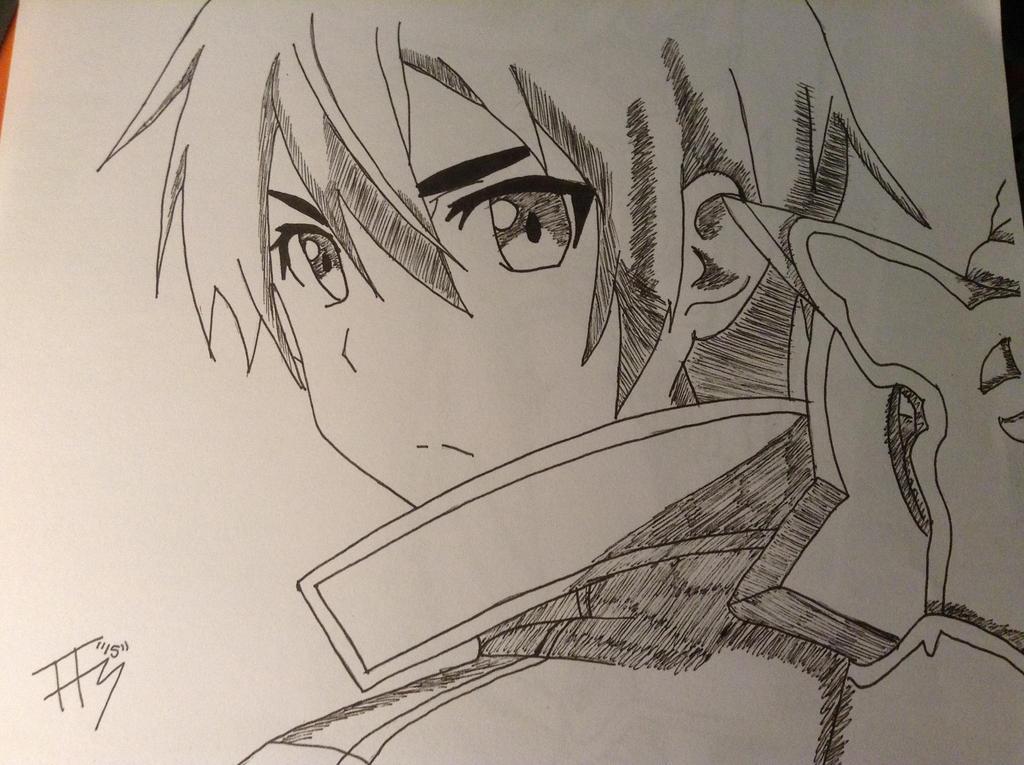 Kirito by Tonnie95