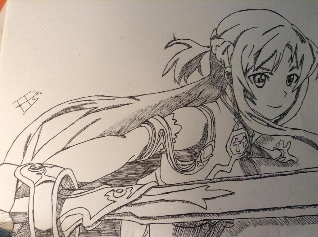 Asuna by Tonnie95