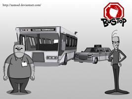 Bustop Phil and Joe 3D
