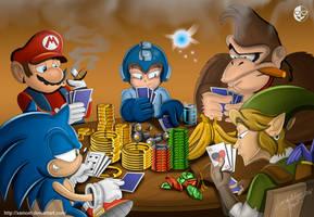 Gaming poker by XAMOEL