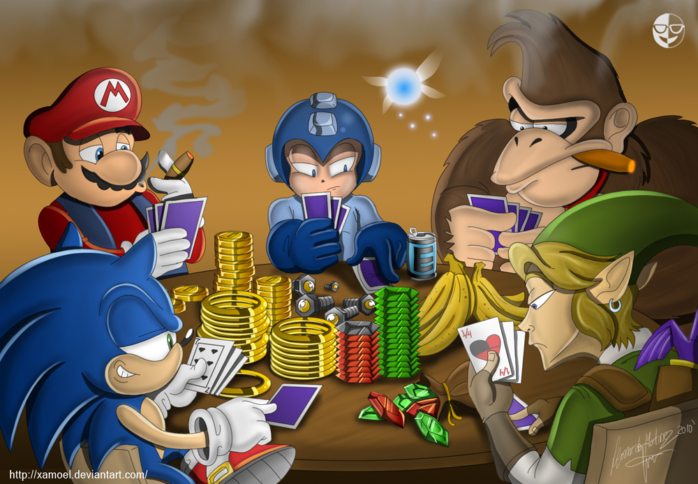 Gaming poker by XAMOEL