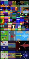 Minimalist Some Sonic Games by XAMOEL