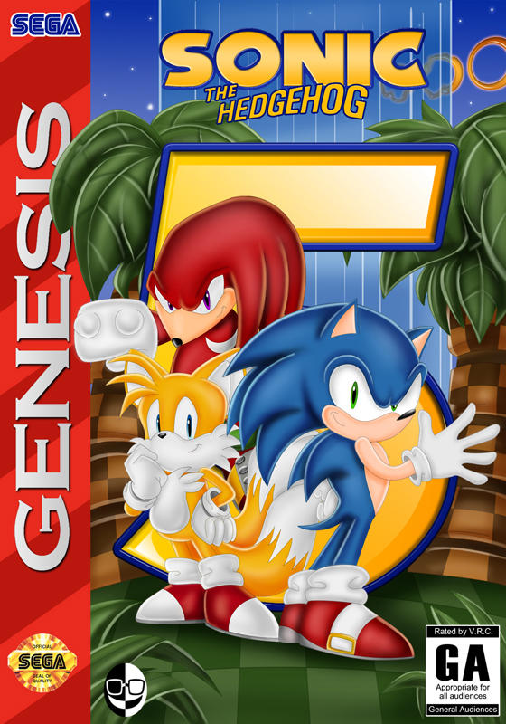 Sonic The Hedgehog 5 Genesis By Xamoel On Deviantart
