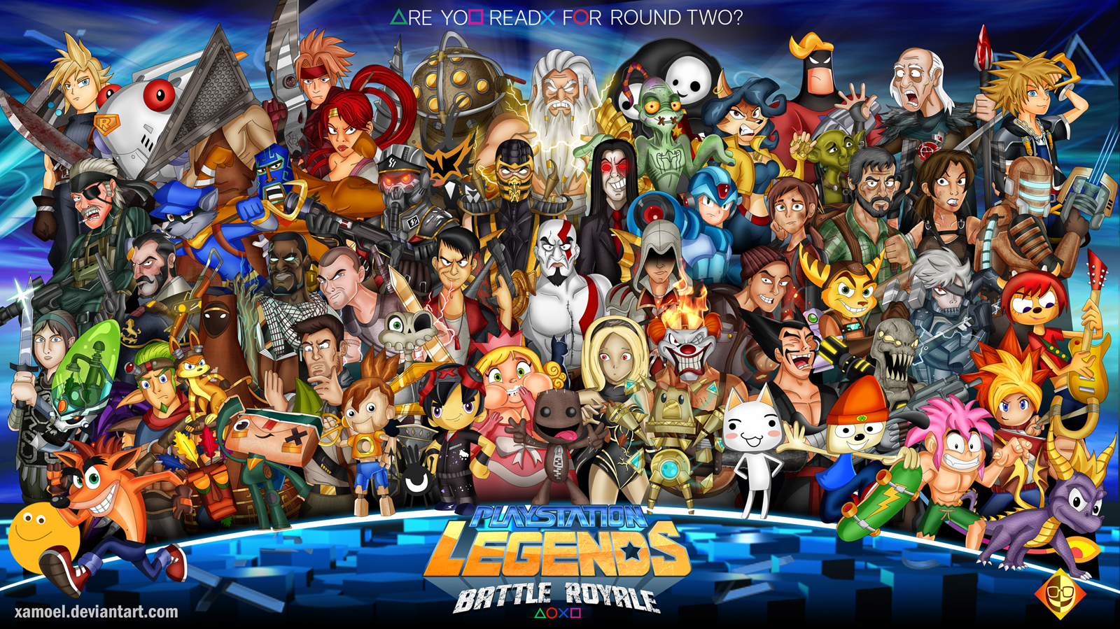 All Games For Ps3 : Playstation legends battle royale by xamoel on deviantart