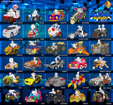 Playstation AllStars Racing by XAMOEL