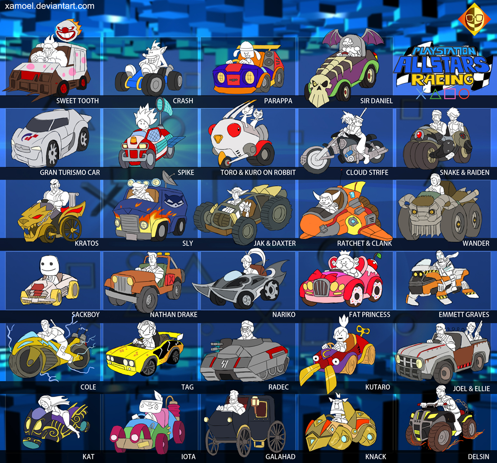 Playstation AllStars Racing