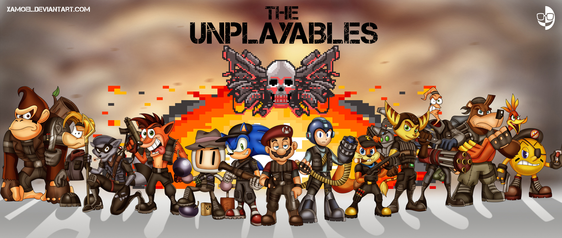 THE UNPLAYABLES by XAMOEL