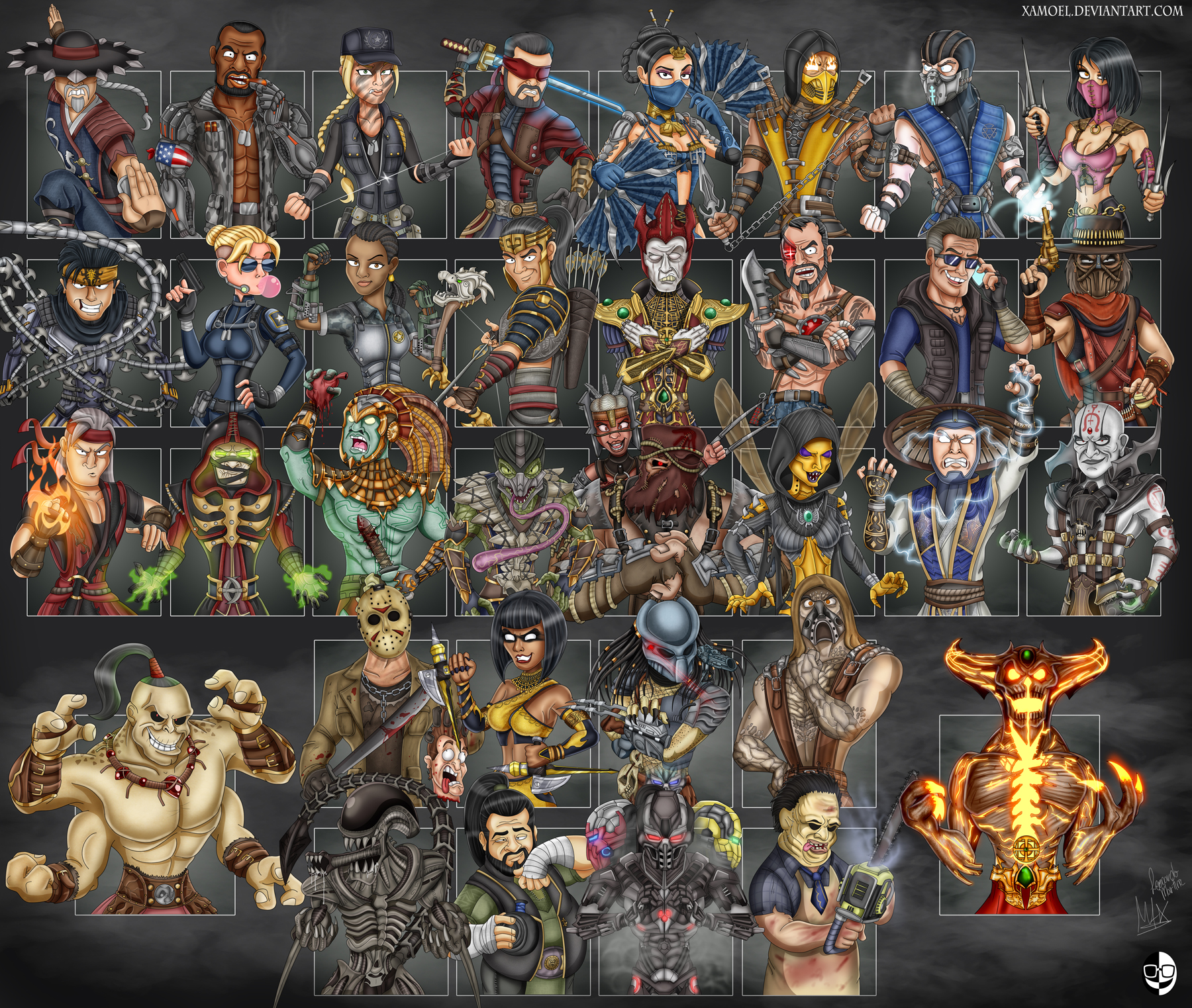 Mortal Kombat Xl By Xamoel On Deviantart