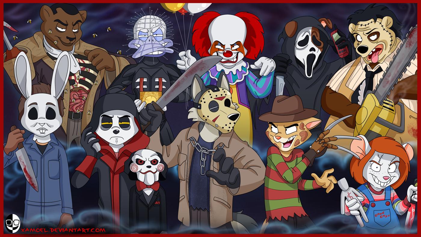 halloween movie pumpkin stencils