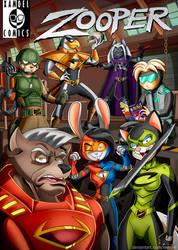ZOOPER COMIC COVER
