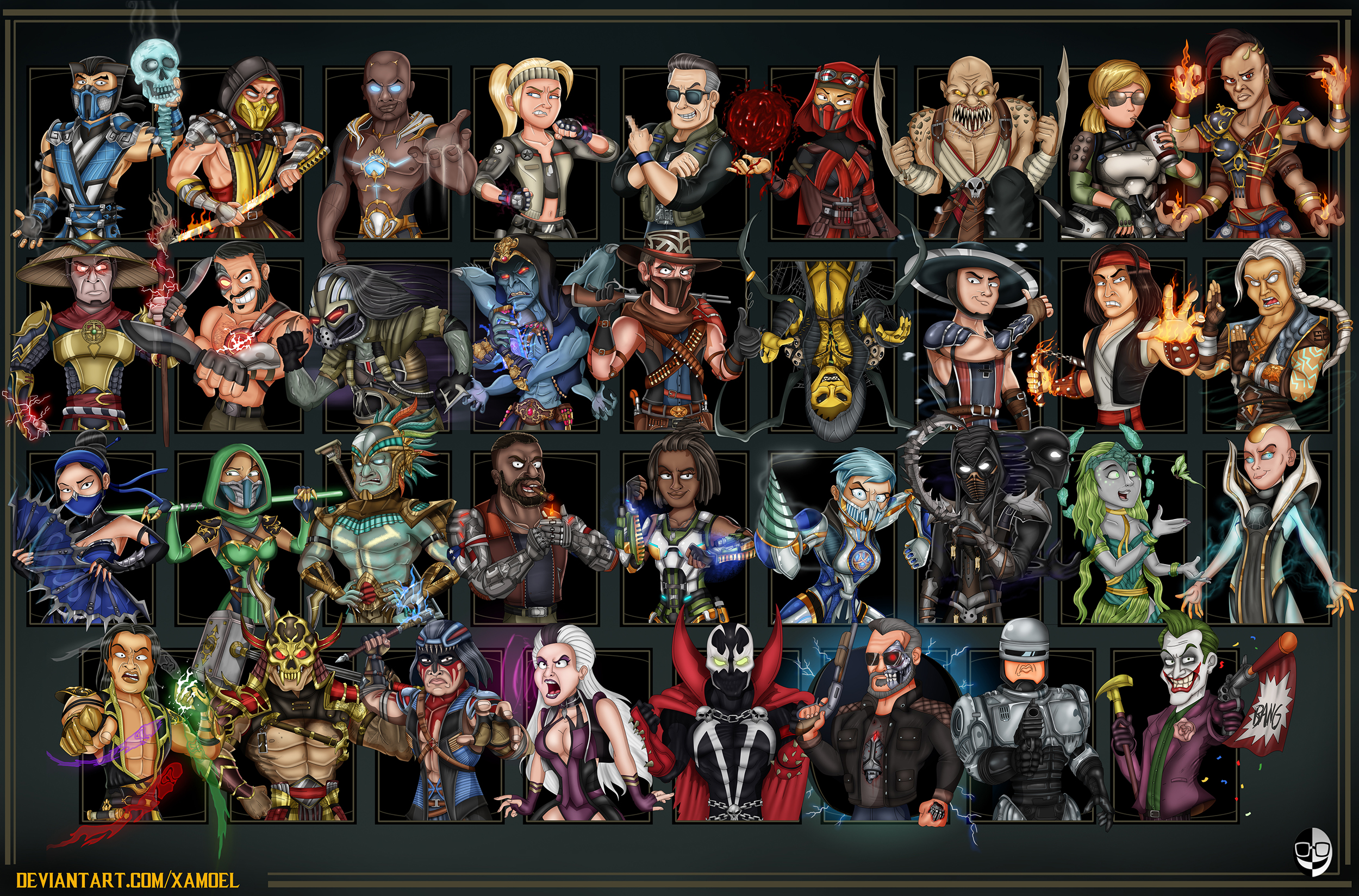Mortal Kombat 11 Aftermath By Xamoel On Deviantart