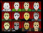 Jason Voorhees Evolution