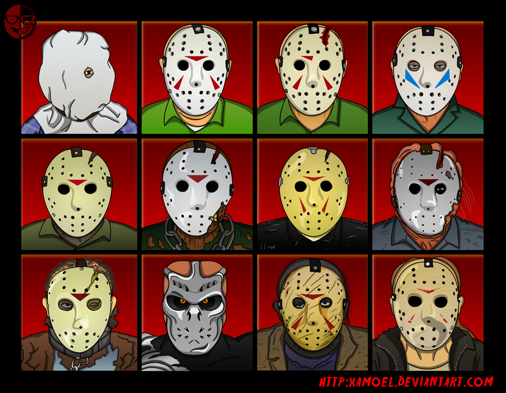 Image Result For All Jason Movies