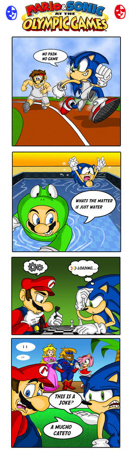 Mario and Sonic olympic