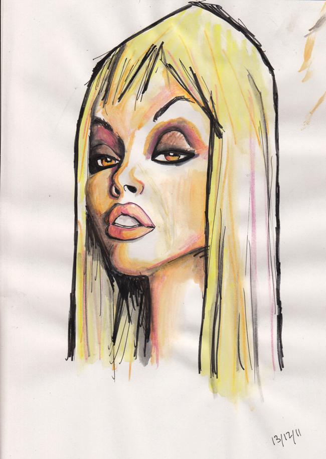 jesse jane sketch by j0epep