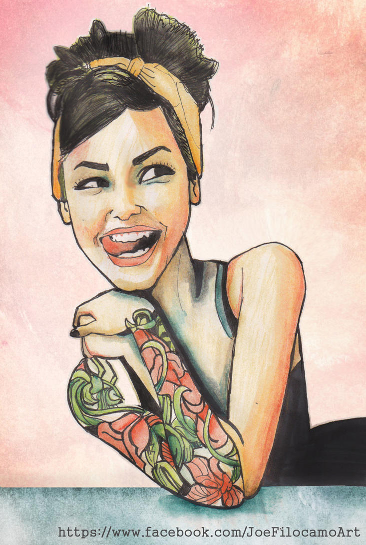 My dream tattoo sleeve girl by j0epep on deviantart for Girl tattoo artist