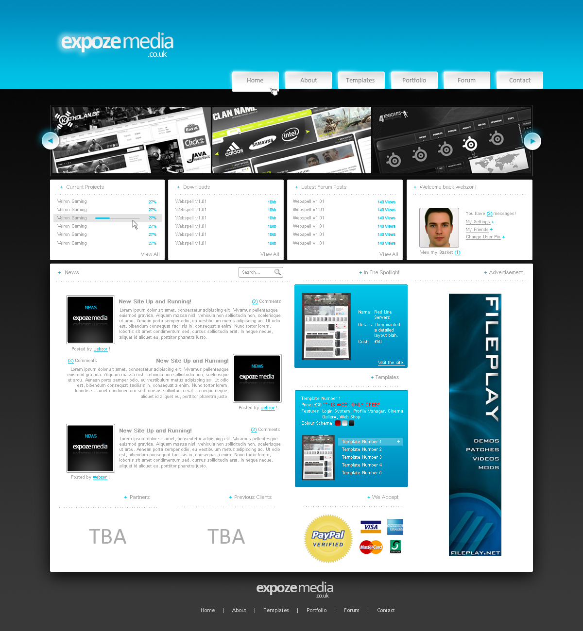 Expoze-Media Webdesign by Joe-Burnham