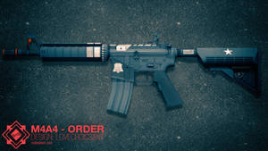 M4A4   ORDER (CSGO Skin)