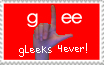 Glee- Gleek stamp by HeadyMcDodd